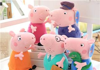 缓解宝宝入园焦虑 小猪佩奇玩偶安抚宝宝作用大