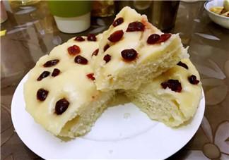 2017三伏天午后营养小甜点 牛奶蔓越莓大米糕