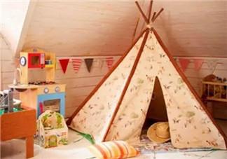 充满爱的DIY儿童小帐篷制作